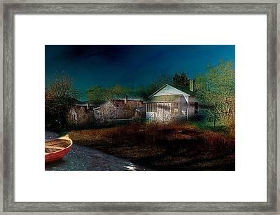 My Dream House Framed Print by Gunter Nezhoda