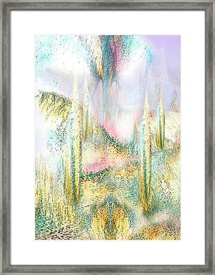 My Dream Place 3 Framed Print