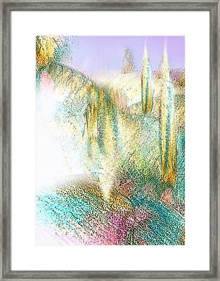 My Dream Place 4 Framed Print