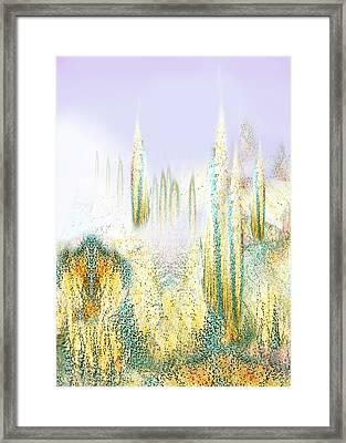 My Dream Place 5 Framed Print