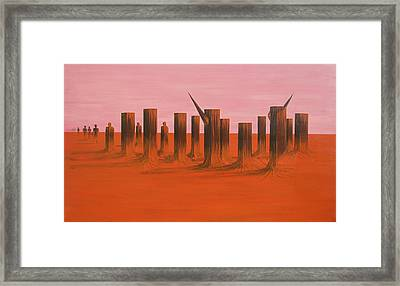 My Dreamtime 3 Framed Print by Tim Mullaney