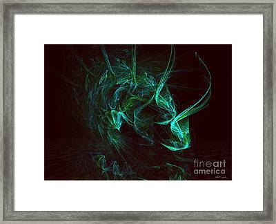 My Exotic Pet Framed Print by Elizabeth McTaggart