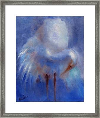 My Fair Egret Framed Print by Susan Hanlon