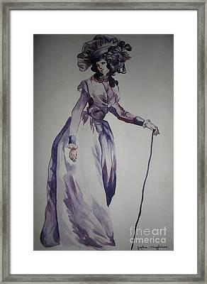 My Fair Lady Framed Print by PainterArtist FIN