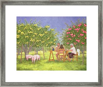 My Family And Other Animals Framed Print