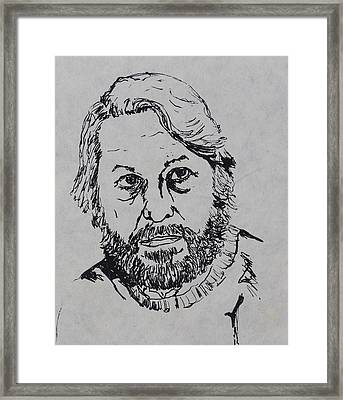 My Father 1973 Framed Print by Erika Chamberlin