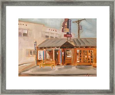 My Father's Office Framed Print by Lindsay Frost