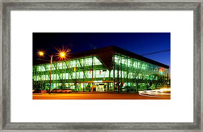 My Favorite Building  Framed Print by Walter  Holland