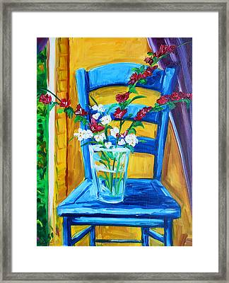 My Favorite Chair Framed Print by Lisa V Maus
