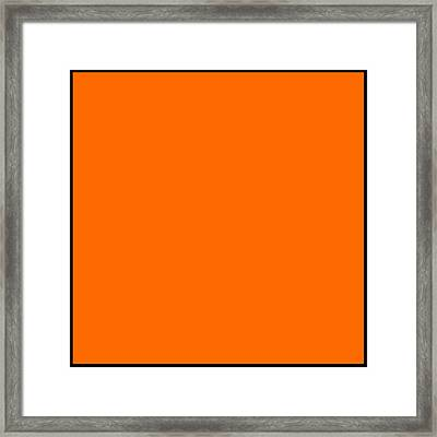 My Favorite Color Framed Print by Anand Swaroop Manchiraju