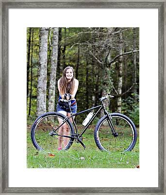 My Favorite Ride Framed Print