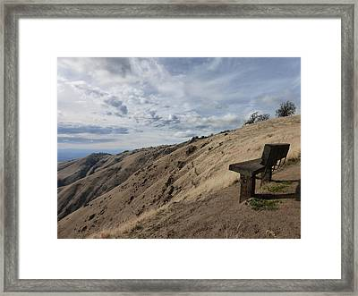 My Favorite Spot. Framed Print