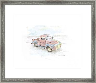 My Favorite Truck Framed Print