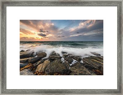 My First Light Framed Print by Jon Glaser