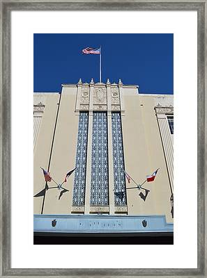 My Flag's Of Freedom  Framed Print by Shawn Marlow
