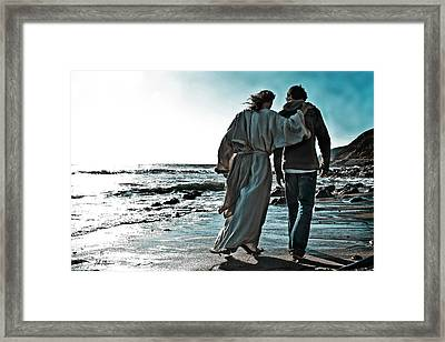 My Friend  Framed Print by Helen Thomas Robson