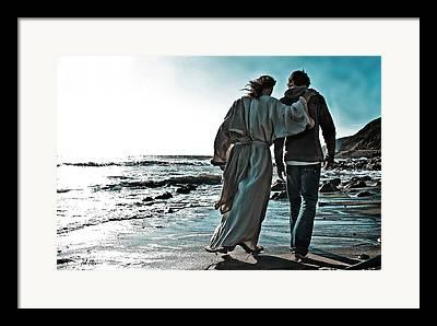 Walking With God Framed Prints