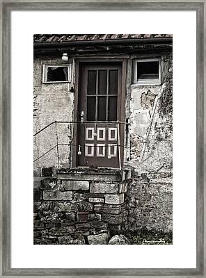 My Front Door Framed Print