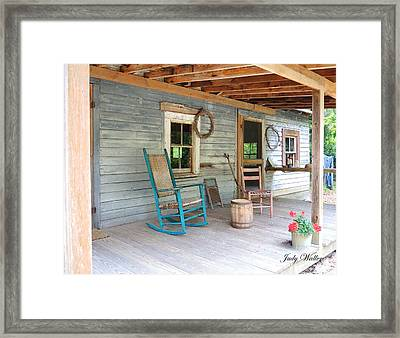 My Front Porch Framed Print