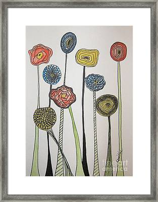 My Garden Framed Print