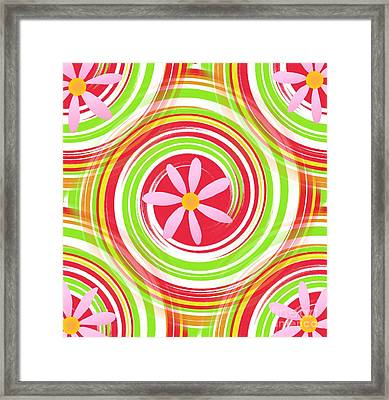 My Girl Room   Colorful Art  By Saribelle Rodriguez Framed Print by Saribelle Rodriguez
