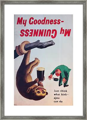 My Goodness-  My Guinness Framed Print by Georgia Fowler