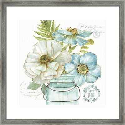 My Greenhouse Bouquet II Framed Print