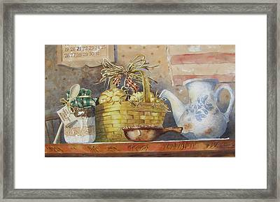 My Group Framed Print by Tony Caviston