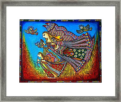 My Guardian Angel Framed Print by Deepti Mittal