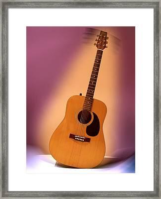 My Guitar Framed Print by Alessandro Della Pietra