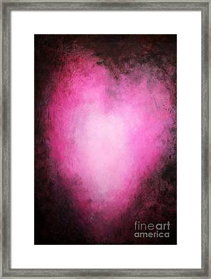 My Heart Beats For You Framed Print by Michael Grubb