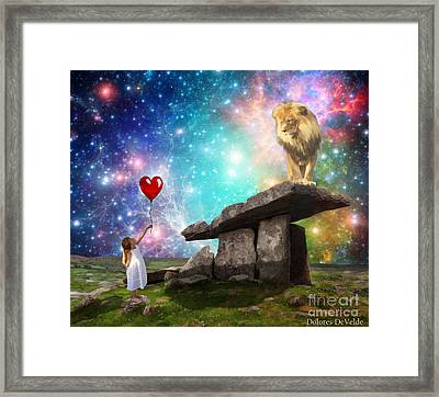 My Heart Belongs To You Framed Print