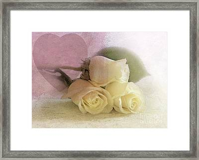 My Heart Framed Print by Betty LaRue