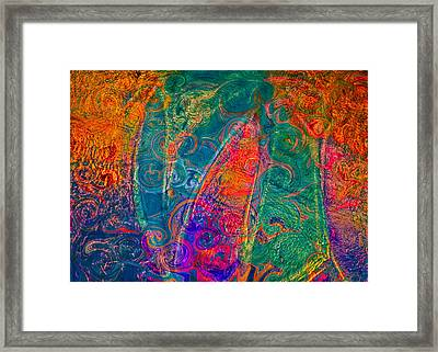My Heart Is Yours Framed Print by Omaste Witkowski