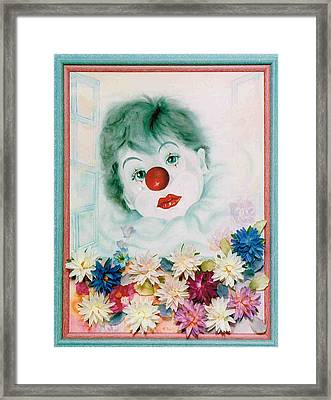My Heart My Tears Framed Print by Takami
