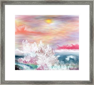 My Heaven Framed Print by Lori  Lovetere
