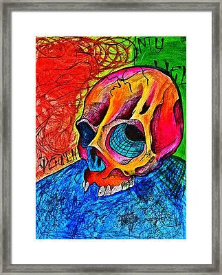 My Hell  Framed Print by Ryno Worm  Tattoos