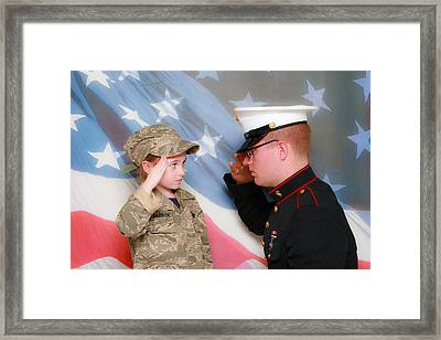 My Hero Framed Print by Lorna Rogers Photography