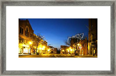 My Home Town 2 Framed Print by Will Boutin Photos