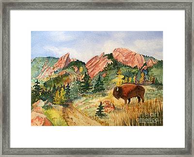 My Home Town Framed Print by Donlyn Arbuthnot