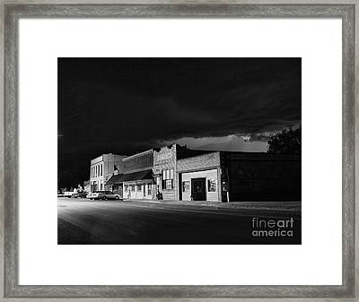 My Home Town II Framed Print
