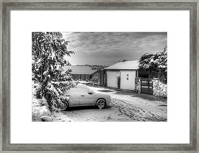 My Home Town - Winter 2015 Framed Print