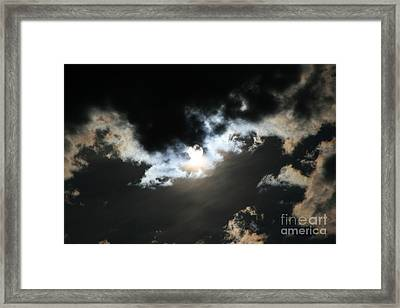 My Hope Carries Me Framed Print by Sharon Mau