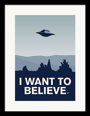 X Files Framed Prints
