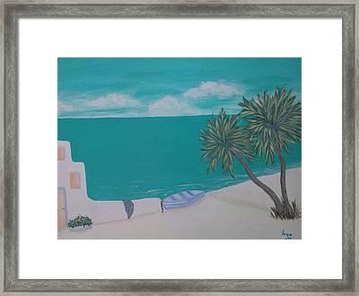 My Island Framed Print