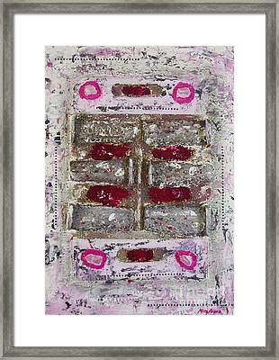 My Jewel Framed Print by Mini Arora