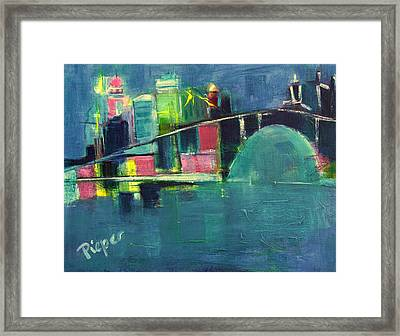 My Kind Of City Framed Print
