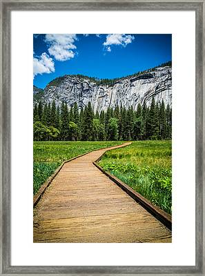 My Kind Of Trail Framed Print by Kristopher Schoenleber