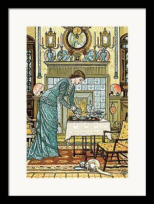 Homemakers Framed Prints