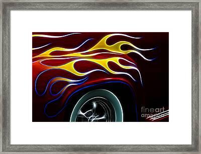 My Latest Flame Framed Print